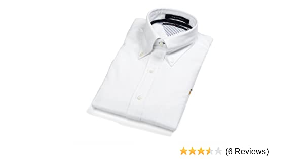 34e51896771fa1 Tommy Hilfiger Solid Oxford Button Down Collar Men s Dress Shirt ...
