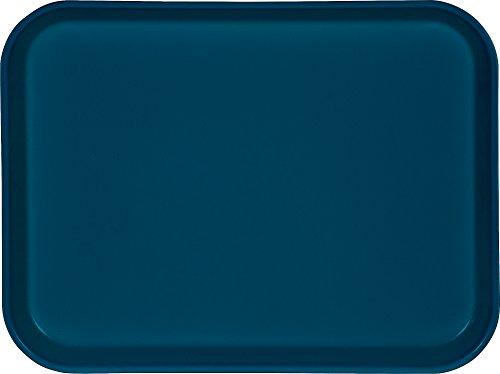 (Carlisle 1410FG014 Fiberglass Glasteel Solid Rectangular Tray, 13.75