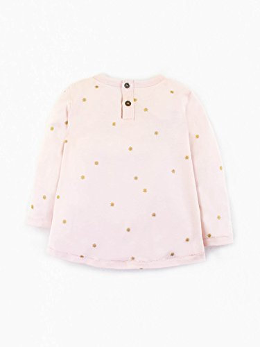 Colored Organics Baby Girls Organic Sophie Swing Top - Sweet Pea/Sprinkle Star - 12-18M