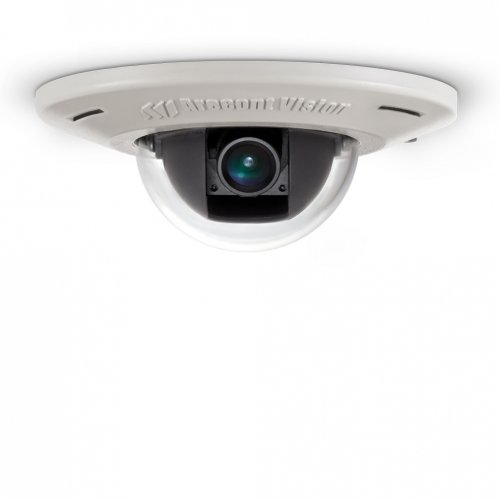(Arecont Vision AV3455DN-F3 Megapixel In-ceiling Mount Indoor Vandal Resistant Dome IP Camera,  4mm IR Corrected Lens,)