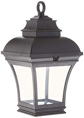 Newport Coastal Altina Outdoor Solar LED Hanging Lantern