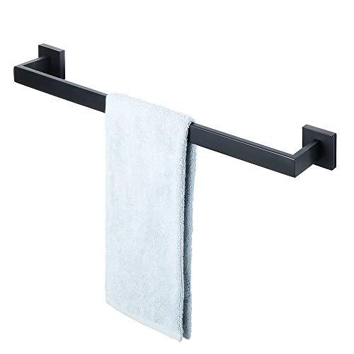 Wall Towel Bar 24 Mount - Alise GA7201B Bathroom Towel Bar Wall Mount 24-Inch,SUS304 Stainless Steel Matte Black