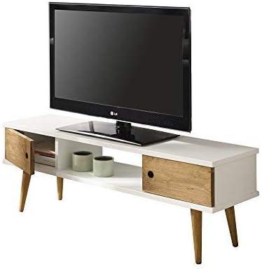 HOGAR24 ES Mesa Television, Mueble TV Salon diseño Vintage, 2 ...