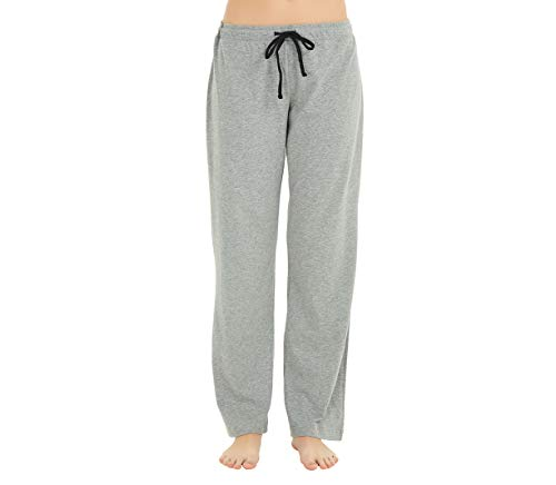 U2SKIIN Womens Cotton Pajama Pants, Comfortable Pant for Lounge, Soft Lightweight Sleep Pj Bottoms for Women