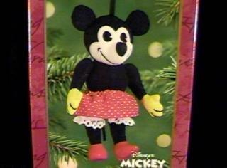 Qxd4192 Mickeys Sweetheart Minnie Mouse 2001 Hallmark Keepsake Ornament