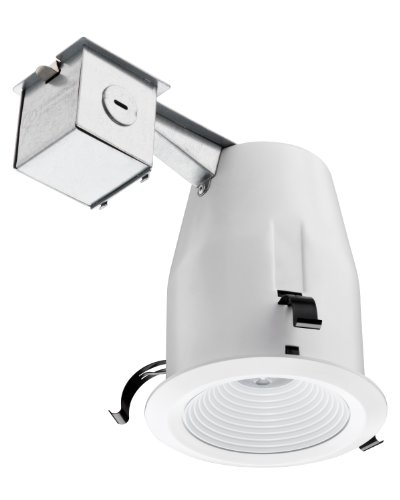 Lithonia Lighting 4-Inch Recessed Baffle Integrated LED Lighting Kit, Matte White (Lithonia Recessed Lighting)