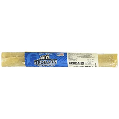 well-wreapped Redbarn - Filled Rolled Rawhide Eaches Chicken, 1 Count Roll