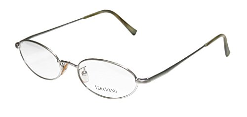 Vera Wang V09 Womens/Ladies Oval Full-rim Spring Hinges Eyeglasses/Eye Glasses (49-17-140, - Eyeglasses Oval Shape For
