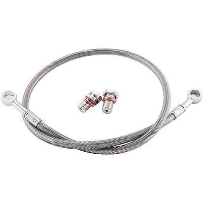 SUZUKI 2004-2005 GSXR 600 GALFER REAR STAINLESS STEEL BRAIDED BRAKE LINE KIT ()