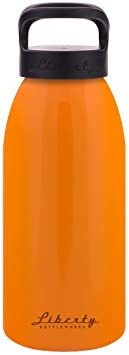 32oz Liberty Bottleworks SAR Aluminum Water Bottle Ember Standard Cap