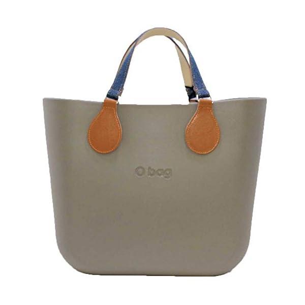 OBAG Borsa o bag mini roccia sacca interna manico piatto corto jeans 1