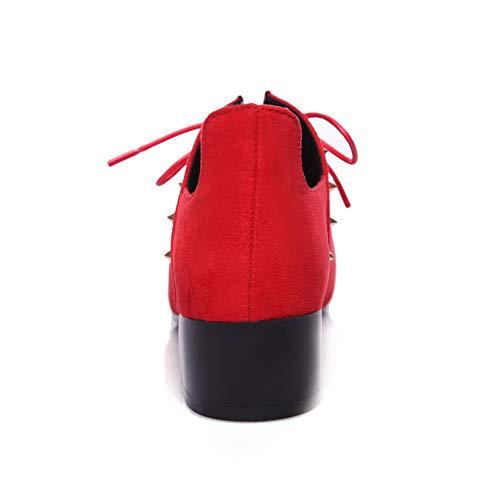Rouge 36 Red BalaMasa Compensées APL10853 Sandales Femme 5 7wnOHIq
