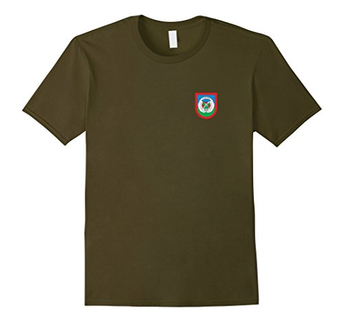 Mens TACP Tactical Air Control Party Large Olive