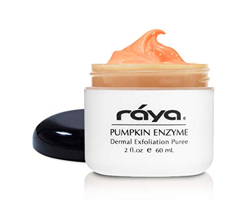 RAYA Pumpkin Enzyme Facial Puree (127) | Gentle and Exfoliating Treatment for All Skin | Reduces Fine Lines and Minimizes Pore Size