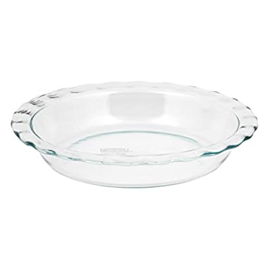 World Kitchen-pyrex/corelle 1085800  Pyrex Easy Grab  Glass Pie Plate - 9.5  (Pack of 6)