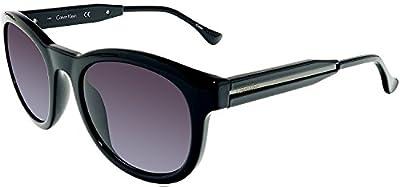 Calvin Klein Gradient CK3188S-5221001 Black Round Sunglasses