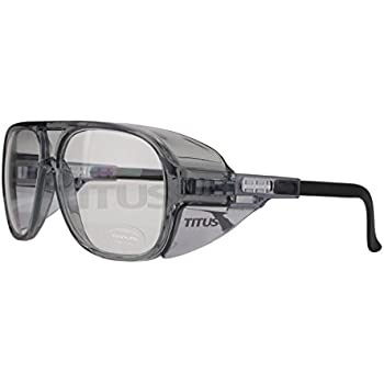 6ba348dd61 TITUS Large Industrial Scientific Safety Glasses (Without Pouch