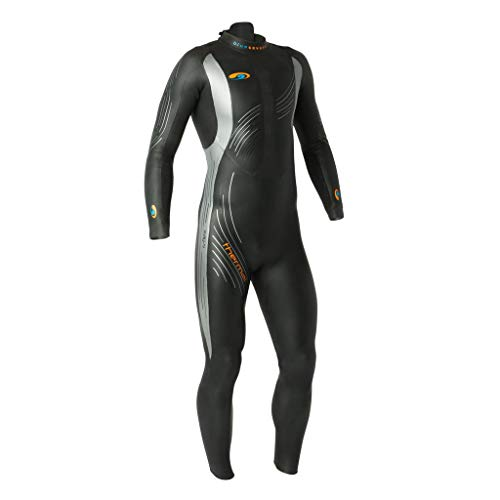 (blueseventy 2019 Men's Thermal Reaction Triathlon Wetsuit - for Cold Open Water Swimming - Ironman & USAT Approved (SMT))