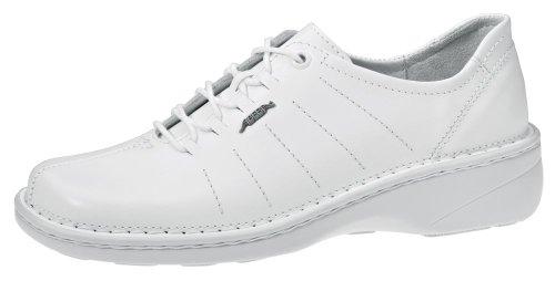 Abeba reflexor® Chaussures à lacets blanc