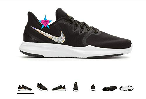 22240eb21f73 Amazon.com  Custom Crystal Bedazzled Women Nike In-Season TR 8 Premium Training  Shoes  Handmade