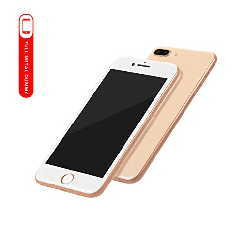 [100% Metal] 2nd Generation Non-Working Replica Phone Dummy Display Phone for Phone 8 i8 Plus 4.7/5.5 inches (Gold 5.5)