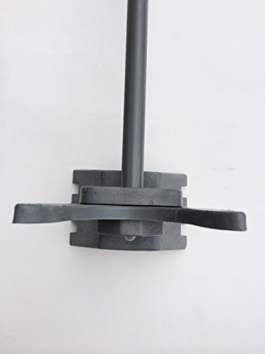 Auto Pool Latch 1-3/8'' X1-3/8'' for Pool Chain Link Fence Gate by Fence America of NJ (Image #1)