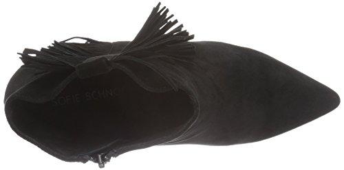 Femme Fringe W Bottes Wedge Noir Black Sofie Classiques Schnoor ZqO6YY