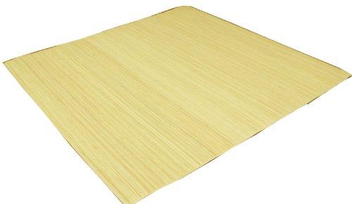 イケヒコ 籐 カーペット 2畳 39穴 マシーンメイド むしろ インドネシア産 『ジャワ』 約176×176cm B0039MHBQ2