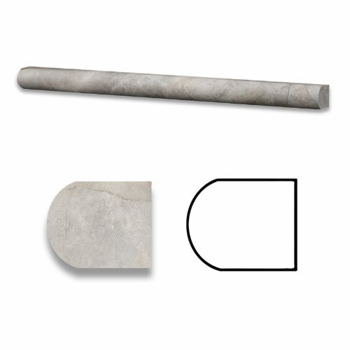 silverado-gray-3-4-x-12-marble-honed-bullnose-liner-box-of-5pcs-by-oracle-moldings