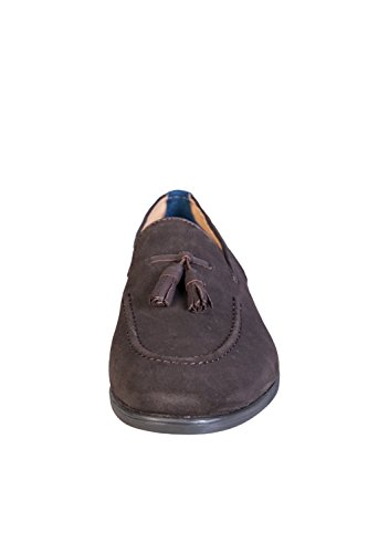 Hudson Dickson, Mocasines Para Hombre Marrón (Dark Brown)