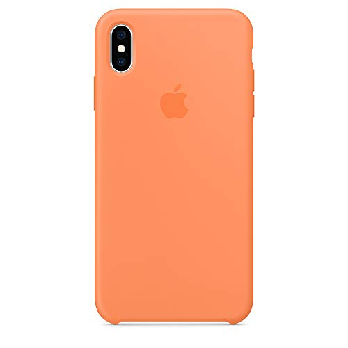 iPhone Xs max Silicone case,Dawsofl Soft Liquid Silicone Case Cover Shell for Apple iPhone Xs max 6.5inch 2018 Release Boxed- Retail Packaging (Papaya)