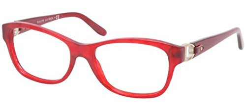 Ralph Lauren RL6113Q Eyeglass Frames 5458-52 - Opal Red - Male Ralph Models Lauren