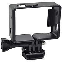 Knmaster GoPro Hero 3 3+ 4 Uyumlu Frame Çerçeve Koruma Aparatı Unisex, Siyah, Tek Beden