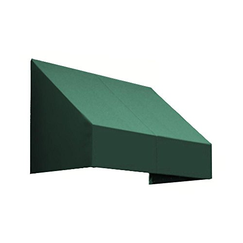 25' New Yorker Window (25 ft. New Yorker Window Awning (44 in. H x 24 in. D) in Forest)