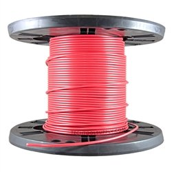 250Ft Spool Single Mini Coax - Red