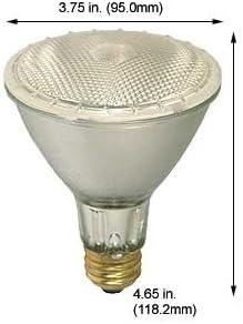 Best Halogen Bulbs 90PAR38QFL//33//SS 130V Flood Case of 5