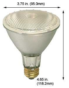 Best Halogen Bulbs 75PAR30QFL/LN/40/SS 130V (Case of 15)
