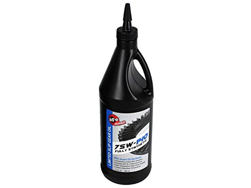 Synthetic Oil Gear Fully (aFe Power Pro Guard D2 90-20101 Synthetic Gear Oil (1 Quart; 75W-140))