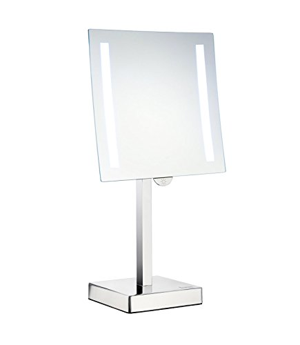 Smedbo FK473E Led Lighted 5X Magnification Make-Up Mirror, Polished -