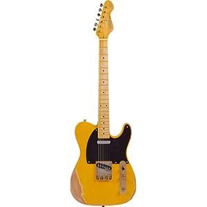 Vintage V52 Icon Butterscotch Electric Guitar