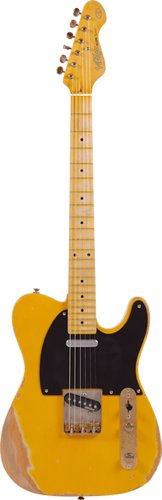 Vintage Guitars V52 Reissue Electric Guitar - Butterscotch