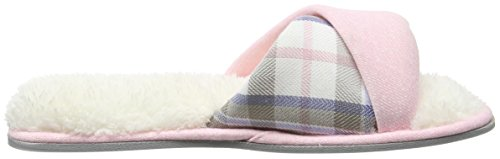 Dearfoams Slide - Pantuflas Mujer Pink (Fresh Pink)