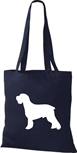 a Zoo Dog Range Colours Bags Bag Animals Blue Schnauzer Fabric Available Natural in of Messenger Bag Cotton Navy 7qtFBx5tWw