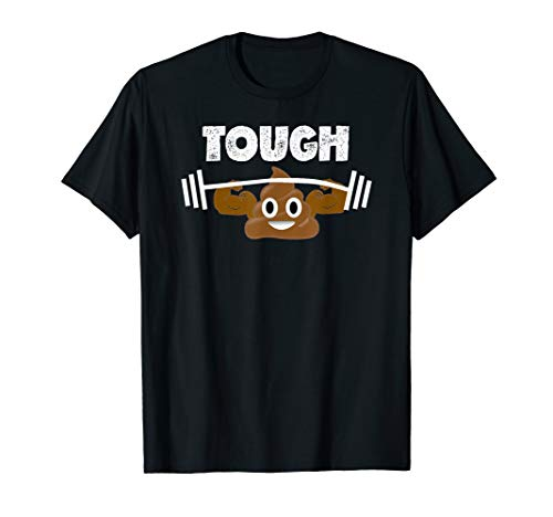 Original Poop Emoji T Shirt Tough Poop Emoji Funny Shirt]()