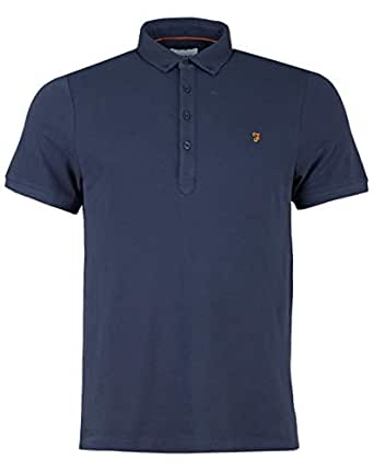 Farah Polos For Men, Navy, M (5057193352053)