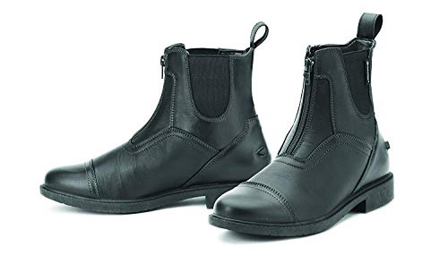 Ovation Ladies Energy Zip Front Paddock Riding Boots, Black, 29