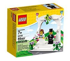 Wedding Favor lego mini figure Set lego mini figure bride and groom 40165