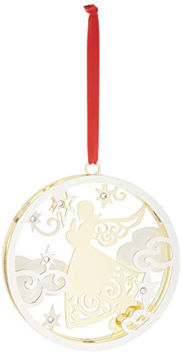 Lenox Stamped Angel Ornament ()
