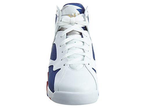 Da Scarpe Blue Basket Coin mtlc Jordan Blanco 7 Royal Retro deep Gold Uomo Air blanco Bg Nike white HXTwYqT