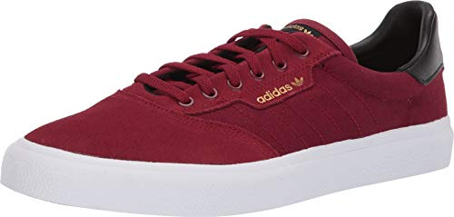 - adidas Skateboarding Men's 3MC Collegiate Burgundy/Core Black/Gold Metallic 8 D US